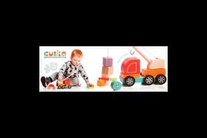 Іграшка Cubika Машинка Авто-кран 13982