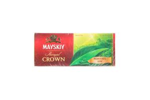 Чай черный Царская корона Майский к/у 25х2г