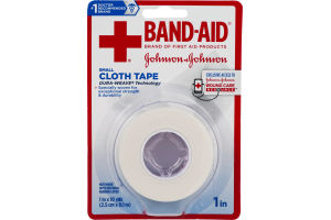 Band-Aid Small Cloth Tape 1 in
