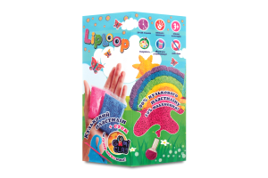 Набор для творчества для детей от 3-х лет №30705 Liploop Зайчик Мир Лео 1шт