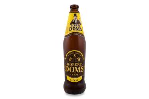 Пиво 0.5л 4.6% світле пастеризоване Blonde Robert Doms пл