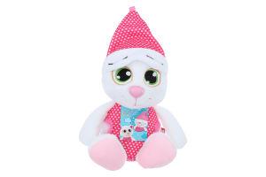 Іграшка м'яка для дітей від 3років №SNK01 Сонний котик Fancy 1шт