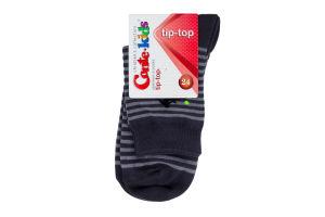 Шкарпетки TIP-TOP дит. р.24 208 темно-сірий