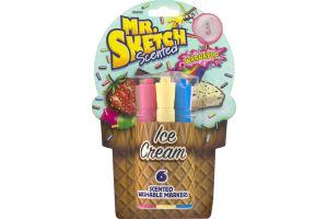 Mr. Sketch Scented Ice Cream - 6 CT