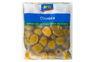 Оливки зеленые без косточки Aro м/у 160г