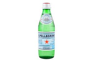 Вода мінеральна газована столова S.Pellegrino с/б 250мл