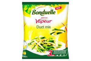 Фасоль стручковая замороженная Duet mix Bonduelle м/у 400г
