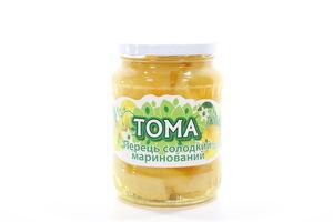 Перець солодкий маринований Тома 660г