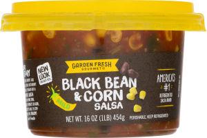 Garden Fresh Gourmet Salsa Black Bean & Corn