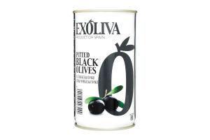 Маслини Exoliva черные без косточки