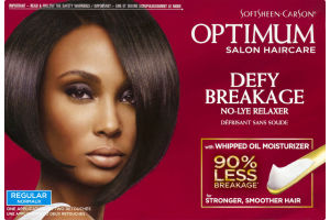 Optimum Defy Breakage No Lye Relaxer with Whipped Oil Moisturizer Regular