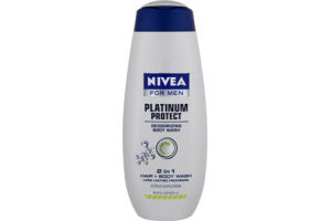 Nivea Platinum Protect Citrus Explosion Body + Hair Wash for Men