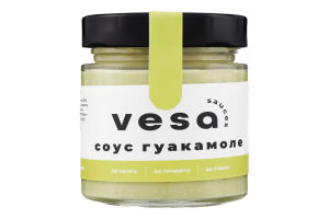 Соус с авокадо Гуакамоле Vesa с/б 200г