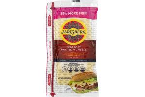 Jarlsberg Semi Soft Part-Skim Cheese Deli Sliced