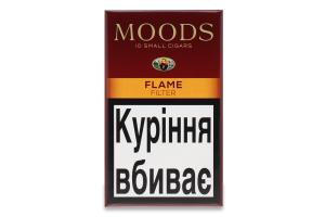 Сигари з фільтром Moods Flame 10шт