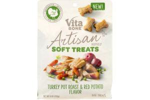 Vita Bone Artisan Inspired Soft Dog Treats Turkey Pot Roast & Red Potato Flavor
