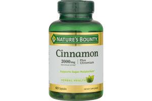 Nature's Bounty Cinnamon 2000 MG - 60 CT