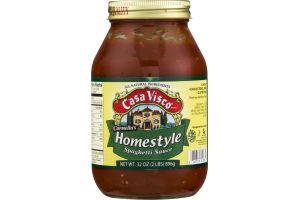 Casa Visco Carmella's Homestyle Spaghetti Sauce