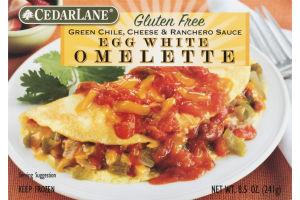 CedarLane Egg White Omelette Green Chile, Cheese & Ranchero Sauce