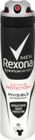 Rexona антиперс-нт 150 для_чоловіків Антибакт, та невидимий на чорному та білому