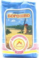 Мука пшеничная высший сорт Олімп м/у 1кг