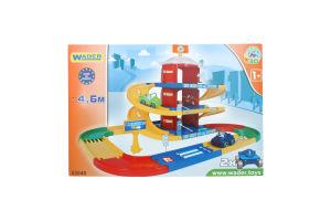 Игрушка Wader Kid Cars Паркинг 4 этажа 53040