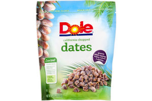 Dole 100% Natural Dates California Chopped
