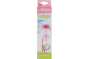 Dr. Brown's Natural Flow Options Reduces Colic Bottle