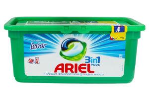Гель для стирки Touch of Lenor fresh Ariel 30*28,8г