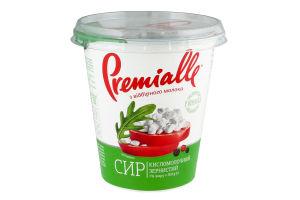Сир кисломолочний 7% зернистий Premialle ст 300г
