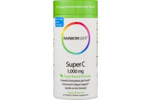 Rainbow Light Super C 1,000 mg Dietary Supplement Tablets - 60 CT