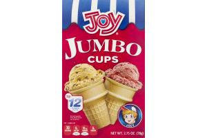 Joy Jumbo Cups - 12 CT