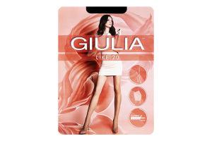 Колготки жіночі Giulia Like 20den 2-S nero