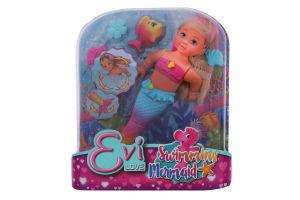 Набір ляльковий для дітей від 3років №5733318 Swimming Mermaid Evi Love Simba 1шт