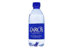 Вода мінеральна газована Zaro's п/пл 0.33л
