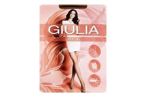 Колготки жіночі Giulia Like 40den 3-M daino
