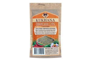 Смесь пряно-ароматическая с куркумой Cванская соль Kukhana м/у 100г