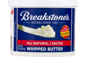 Breakstone's All Natural Salted Whipped Butter