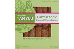 Sausages By Amylu Harvest Apple Breakfast Chicken Sausage - 12 CT