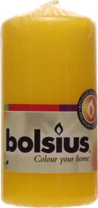 Свеча цилиндрическая желтая 100/50мм