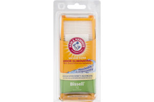 Arm & Hammer Vacuum Filter for Bissell 12