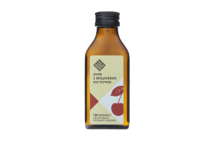 Олія з вишневих кісточок Лавка традицій холодного віджиму нерафінована, 100 мл