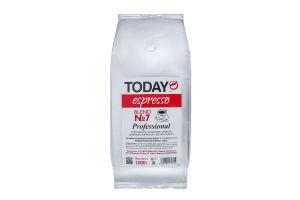 Кава натуральна темнообсмажена в зернах Espresso Blend №7 Today м/у 1000г