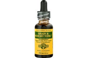 Herb Pharm Brain & Memory Tonic Liquid Herbal Extract