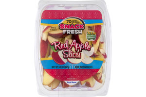 Snack Fresh Red Apple Slices