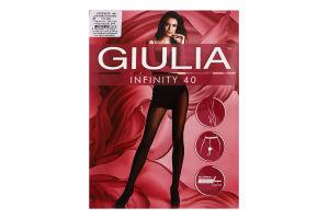 Колготки жіночі Giulia Infinity 40den 2-S cappuccino