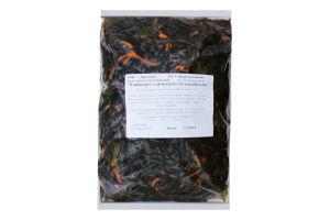 Салат з морської капусти Ламінарія з морквою по-корейськи ваговий Гурману по карману