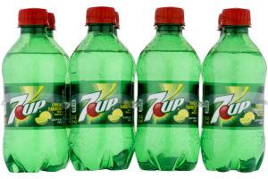 7-Up Mini Bottles - 8 PK