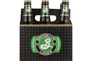 Brooklyn Brand Lager Beer Bottles - 6 CT