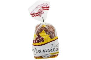 Хлеб нарезанный Изюминка Поліссяхліб м/у 400г